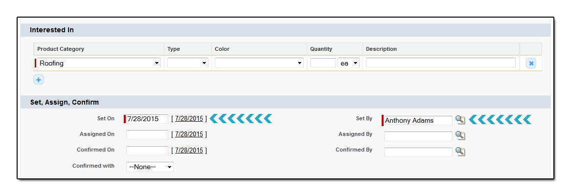 Scheduling Appointments - Intersted in Set Assign Confirm