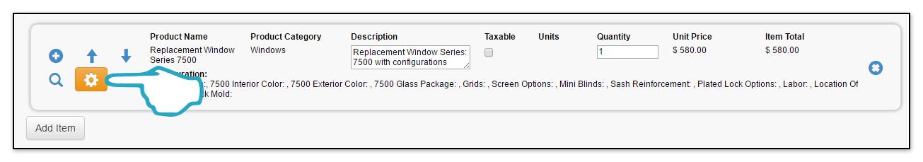 Product Configuration Click 2