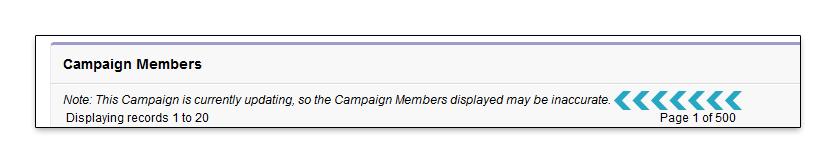 Campaign Member Update Note