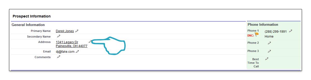 Inline Edit click