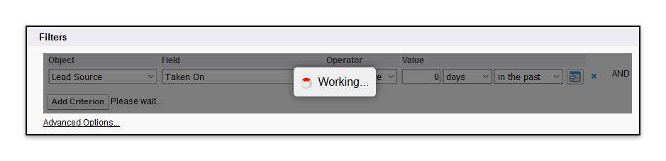 Add Filter Working